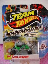 2012 Team Hot Wheels HW SAND STINGER quad cycle ~GREEN; Black High-Speed ~HWTF