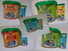 10+1 Liter Pond Sticks Tetra Koi Multi Mix Colour Gartenteich Futter Fischfutter