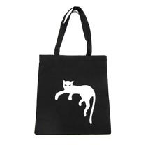 baumwolltragetasche Bolsa de Yute Bolsa miniblings Gato Resaca Panter