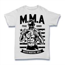 MMA Fighter T-Shirt. 100% Cotton Premium Tee NEW