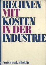 Geißler Rechnen mit Kosten in der Industrie EA 1975 Wirtschaft