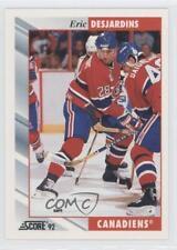1992-93 Score #23 Eric Desjardins Montreal Canadiens Hockey Card