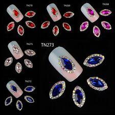 CHARMS per UNGHIE NAIL ART miniature gioiello MANICURE smalto metallo JEWELS