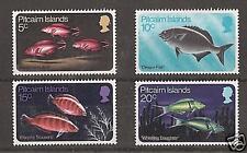 PITCAIRN ISLANDS # 114-7 MNH PACIFIC ISLAND FISH,  SEA LIFE