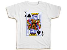 King Playing Card T-Shirt - Mens Women Casino Gambling Birthday Present Gift