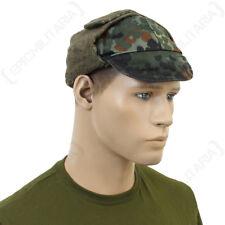 Tedesca Flecktarn Mimetico Invernale Berretto Cappello Surplus Dell'esercito