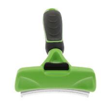 Cat Brush DeShedding Tool Pet Dog Animal Brush Comb Grooming Rake with Handle