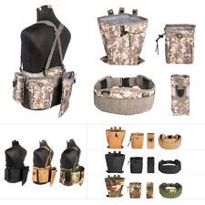 Tactical Molle Modular Waist Belt Holster Mag Dart Pouch Combo Nerf Battle Gear