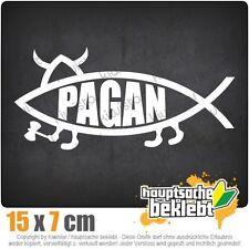 Pagan Fisch csf0271 15 x 7 cm JDM  Sticker Aufkleber