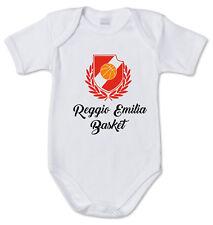 BODY tutina bimbo neonato J2142 Reggio Emilia Basket Reggiana Grissin Cestistica