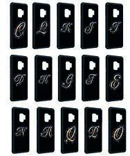 Samsung Galaxy Silikon Slim Handyhülle Case Cover Schutz Buchstaben Name V2