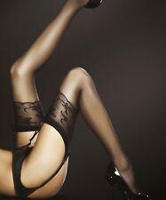 Bas sexy nylon pour porte-jarretelles Femme 20 Den Fiore JORDANA t2 t3 t4