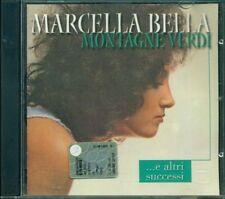 MARCELLA BELLA raro CD MONTAGNE VERDI e altri successi
