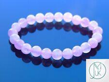 Rose Quartz Natural Dyed Gemstone Bracelet 6-9'' Elasticated Healing Stone