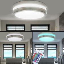 RGB Deckenleuchte Veranda Fernbedienung IP44 LED Badezimmer Außenlampe dimmbar