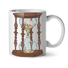 Clock Time Skull Fashion NEW White Tea Coffee Mug 11 oz | Wellcoda