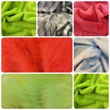 Faux Fur Fabrics Assorted Colours