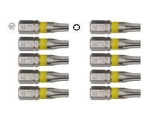 10 x Profi Bits Torx 25 mm T10 T15 T20 T25 T30 T40 Bitsortiment z.B. Bit-Box