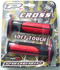 Handlebar Grips  Red/Black Progrip 798 dual compound Gas Gas EC125 EC200 EC250