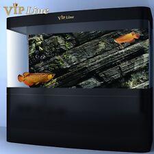 3D Moss Rock Aquarium Background Poster PVC Fish Tank Decorations Landscape