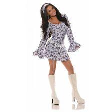 60s Costume Adult Sexy Go Go Girl Halloween Fancy Dress