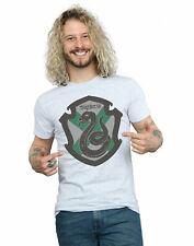 Harry Potter Hombre Slytherin Crest Flat Camiseta