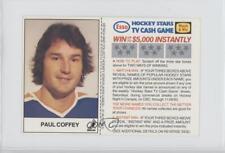 1983-84 ESSO Hockey Stars TV Cash Game #PACO Paul Coffey Edmonton Oilers Card