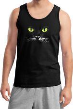Halloween Tank Top Black Cat