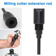 "1/4"" 1/2"" Shank Collet Chuck Holder Woodwork Milling Router Bit Extension Rod"