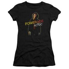 "AC/DC ""Powerage"" Women's Adult or Girl's Junior Babydoll Tee"