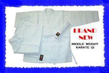 WHITE 8 Oz. Karate Uniform Gi Size 3 Martial Arts NEW!