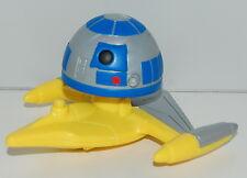 2008 R2-D2 R2D2 #8 Bobble Head Toy McDonald's Star Wars Clone Bobblehead
