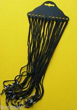 Lot Revendeurs - 10 sachets de 12 cordons noirs pour lunettes - 120 cordons