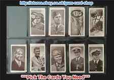 CHURCHMAN - KINGS OF VITESSE 1939 (G) PIC LES CARTES DONT VOUS AVEZ BESOIN