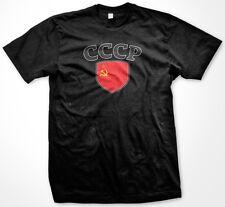 CCCP USSR Country Crest Flag Colors Ethnic Pride Men's T-shirt