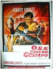 OSS CONTRE GESTAPO (O.S.S.) Affiche Cinéma / Movie Poster ROBERT GOULET