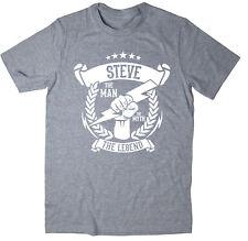 Steve - The Man, The Myth, The Legend T-Shirt - Christmas gift idea - 6 colours