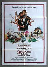OCTOPUSSY * CineMasterpieces ITALIAN 2SH ORIGINAL MOVIE POSTER JAMES BOND 007