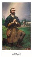SANTINO HOLY CARD TELA CANVAS SAN ISIDORO AGRICOLA 1