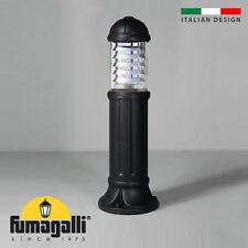 Fumagalli Sauro800 IP55 Bollard Light Resin Black Anti-Rust Lifetime Guarantee