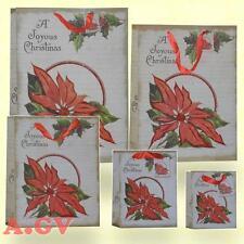 Weihnachtstüten Geschenktüte Papier Tasche Taschen Beutel Tüten Weihnachtssterne