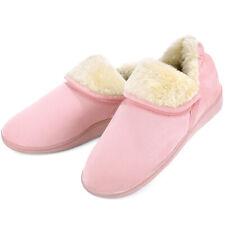 Women's Ankle High Bootie Slippers Memory Foam Fuzzy Warm House Shoes