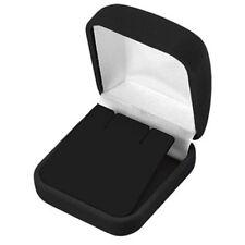 Black Velvet Earring Gift Box Gift Boxes Wholesale 1 2 6 12 24 48 96 144 pcs
