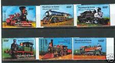 TRENI - TRAINS GUINEA 2001 set