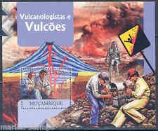Mozambique 2012 Volcanoes Souvenir Sheet Mint Nh