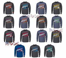 New NFL Men's Shed Blockers Longsleeve T-Shirt
