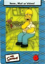 SIMPSONS  FILMCARDZ TRADING CARD SET 45 CARDS SERIES II