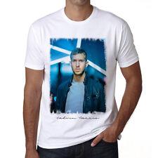 DJ Calvin Harris, Tshirt,Col Rond,Homme T-shirt,cadeau