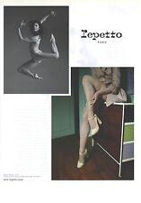PUBLICITE  ADVERTISING 2008  REPETTO chaussures   Marie Agnés Gillot