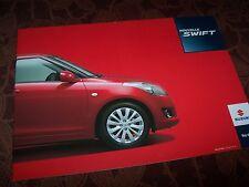 Catalogue / Brochure SUZUKI Swift 2012 //